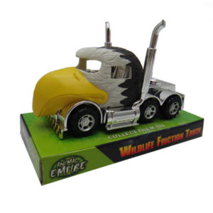 Animal truck toy eagle trailer toys friction power truck