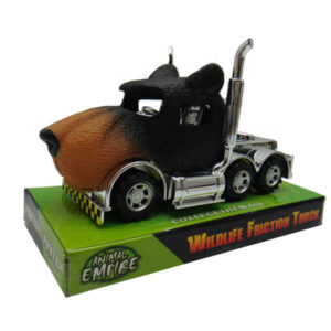 Bear truck toy animal truck friction power toy