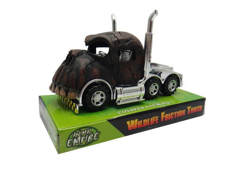 Skull truck toy animal truck friction power vehicle