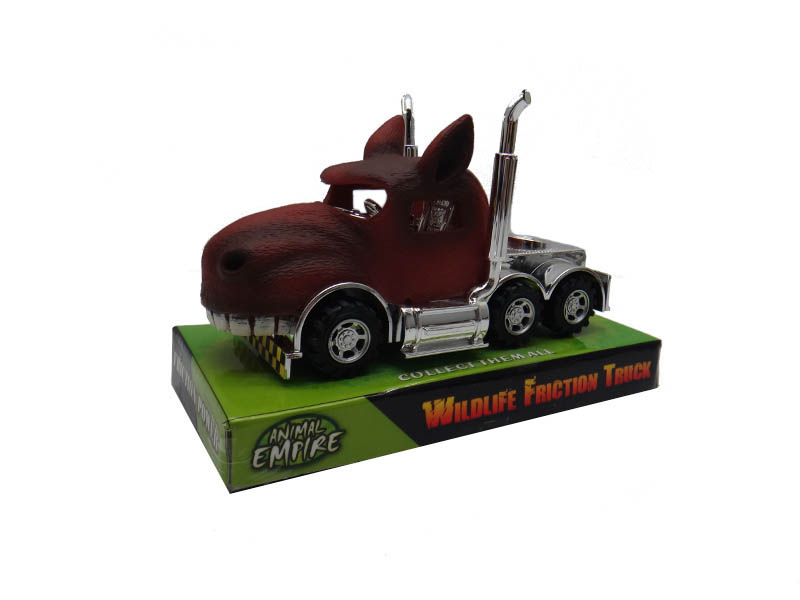 Horse truck toy friction power vehicle farm toy
