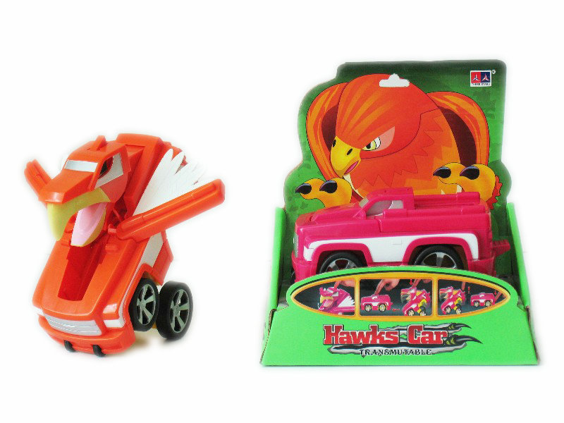 Transform car eagle toy freewheel toy