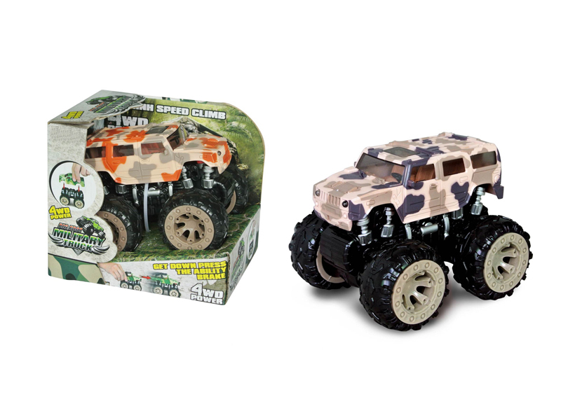 4wd monster truck friction car vehicle toy