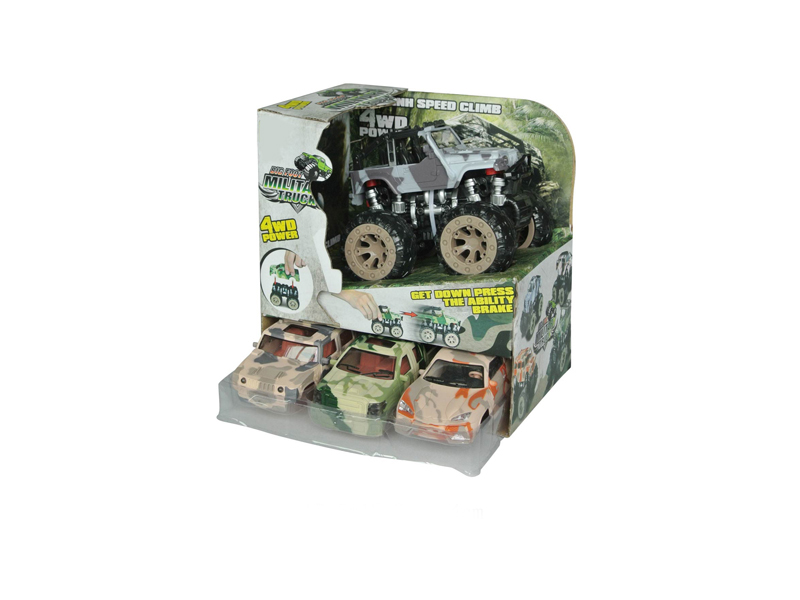 Friction truck toy monster car toy vehicle