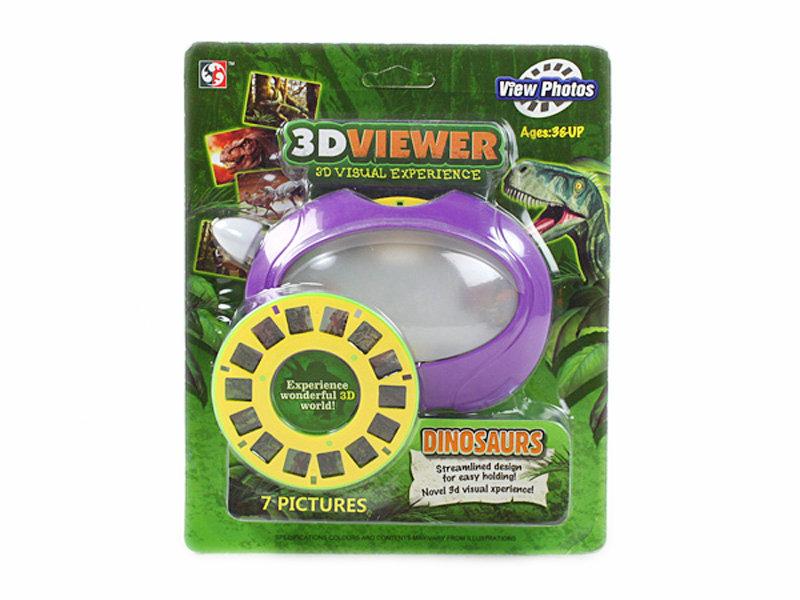 Dinosaur toy 3D viewer toy time machine