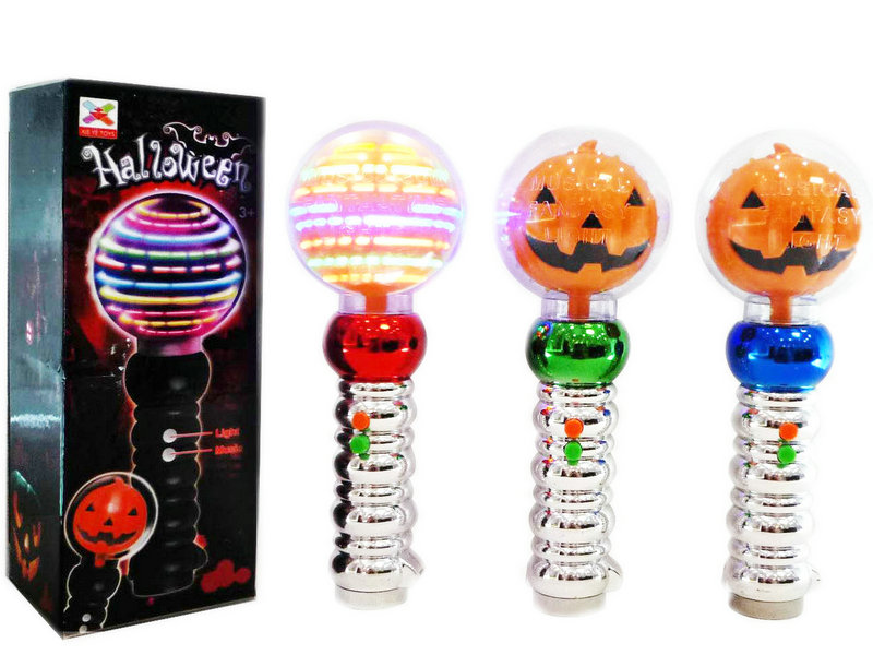 Pumpkin toy spinning toy lighting toy with light and sound
