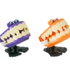 Wind up jumping teeth wind up toy funny toy