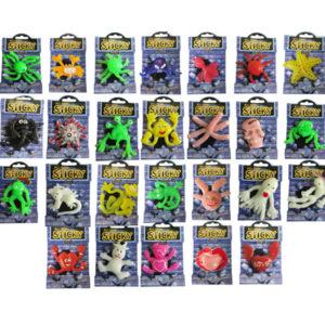 Sticky animal toy funny toy sticky toy for promotion
