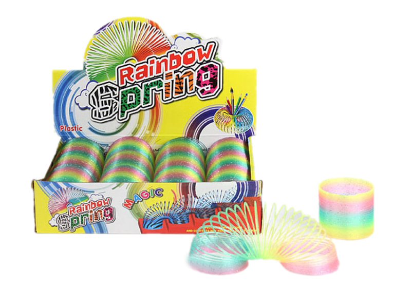 Magic spring rainbow spring colorful rainbow spring toy