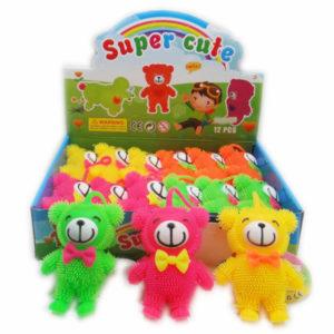 Flashing bear animal toy lighting toy