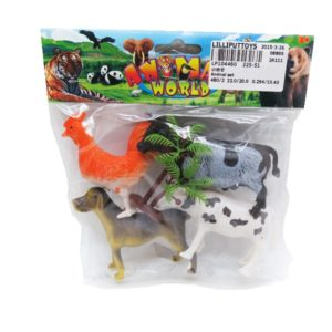 Animal figurine pvc animal model animal toy