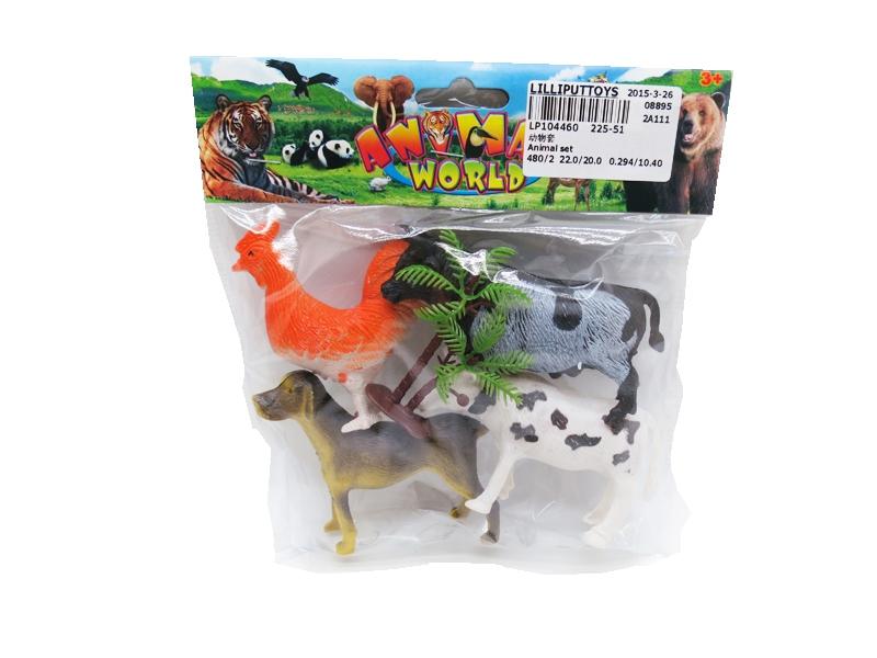 Animal figurine pvc animal model animal toy