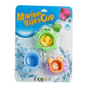 Animal bathing toy baby bath toy cute set