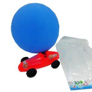 Balloon car toy car small car with ballnoon