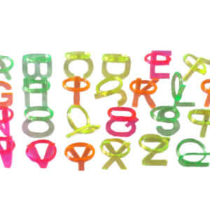 Alphabet rings cheap rings finger ring toy