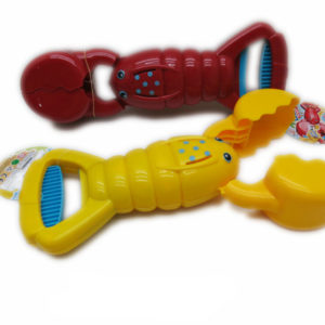 Cartoon robot hand animal manipulator lobster toy