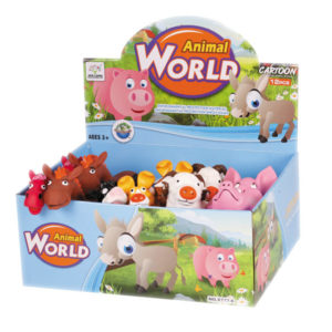 Cartoon animals soft toys cute set toy
