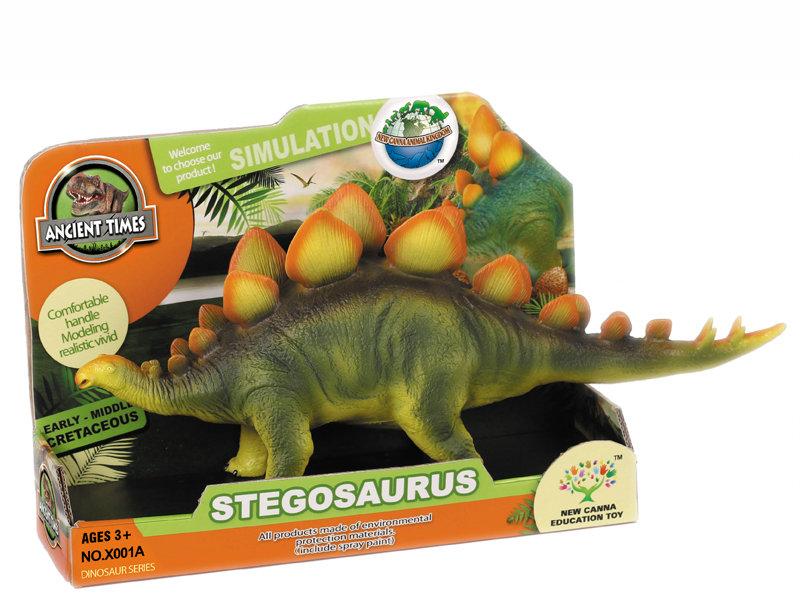 Stegosaurus toy animal toy dinosaur toy