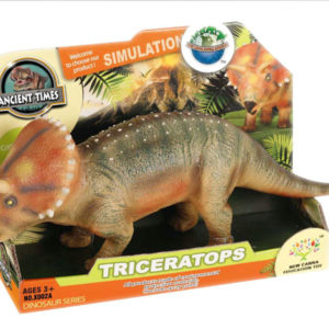 Triceratops toy dinosaur toy animal toy