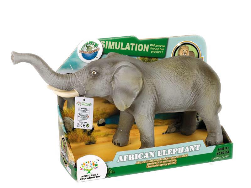 Elephant toy animal toy cut toys