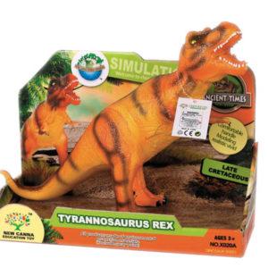 Tyrannosaurus toy animal toy dinosaur toy