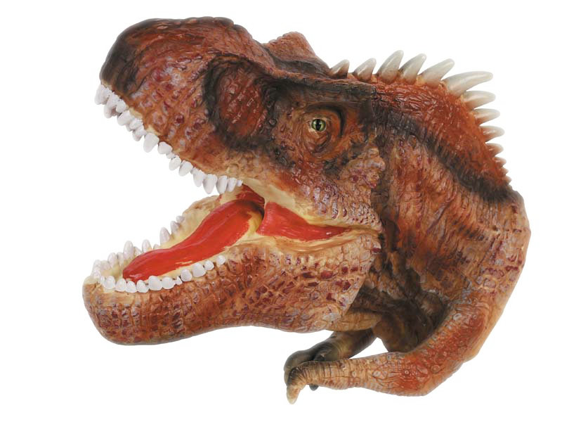 Allosaurus puppet dinosaur toy animal set