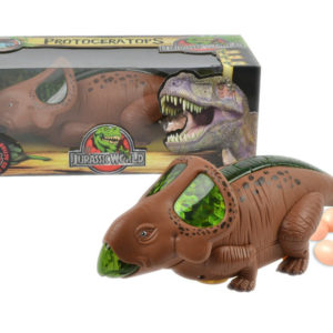 Cute dinosaur battery option toy cartoon toy