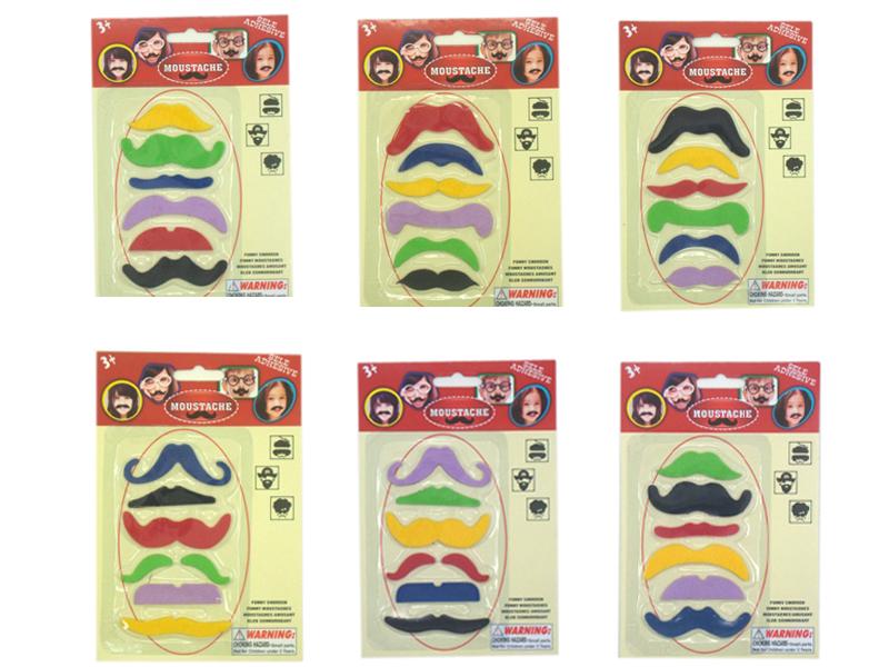 pretending beard halloween cosmetic toy funny mustache