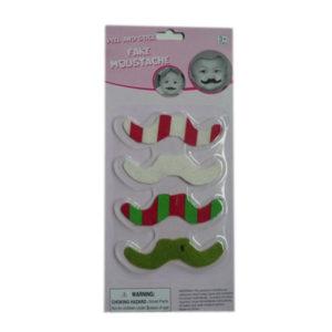 Christmas mustache santa beard fake beard toy