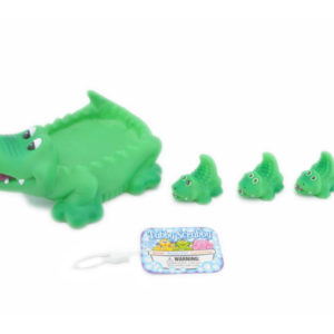Crocodiles toy animal family baby bath toy