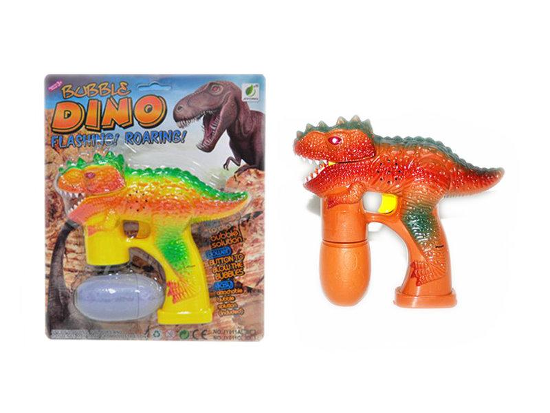 Bubble gun dinosaur shape toy gun toy
