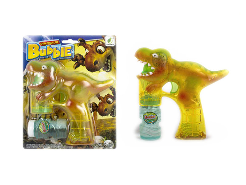 Animal toy toy bubble gun dinosaur toy with music