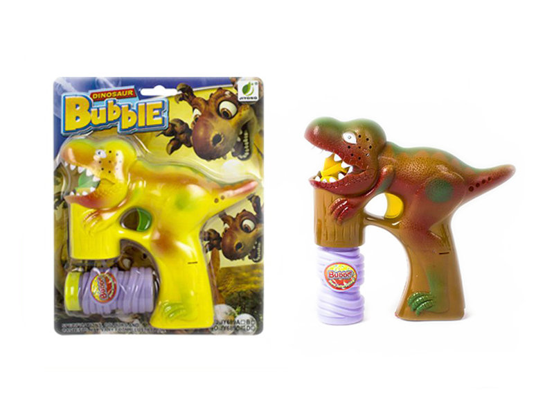 Dinosaur gun toy bubble toy summer toy
