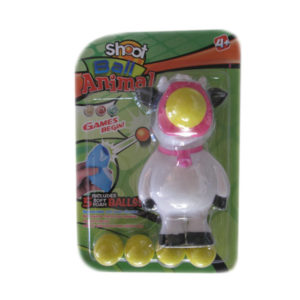 Cow shooting toy animal toy squeeze shooter