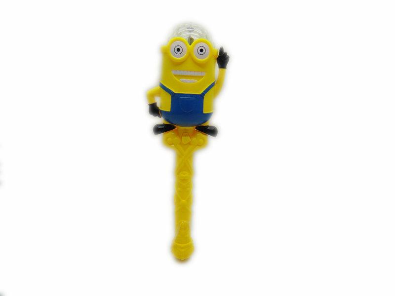 Minions toy flash stick festival toy