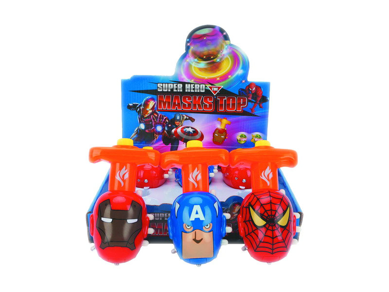 Colorful top cartoon toy outdoor toy