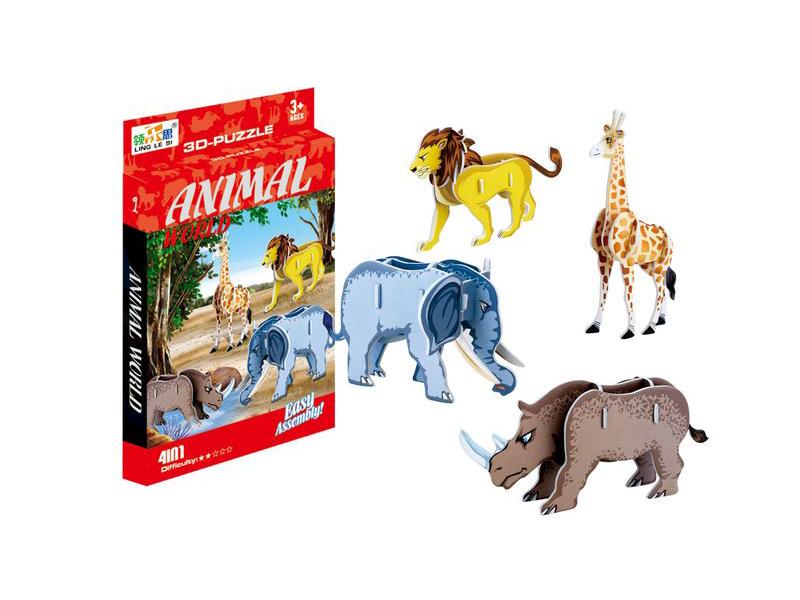 Intelligent puzzle Leimocole 3D puzzle toy puzzle