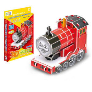 Toy puzzle James train 3D puzzle intelligent toy