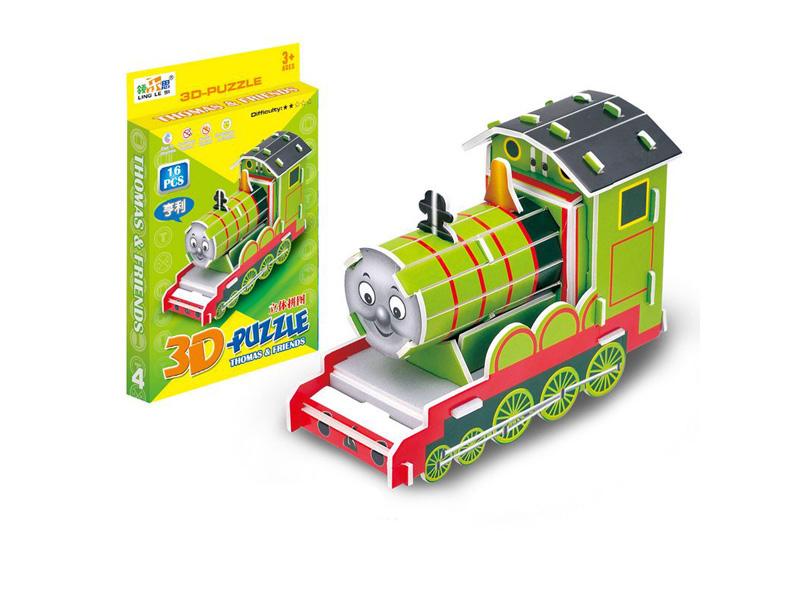 Intelligent puzzle 3D puzzle toy henry train puzzle