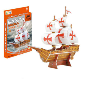3D boat puzzle toy puzzle intelligent toy