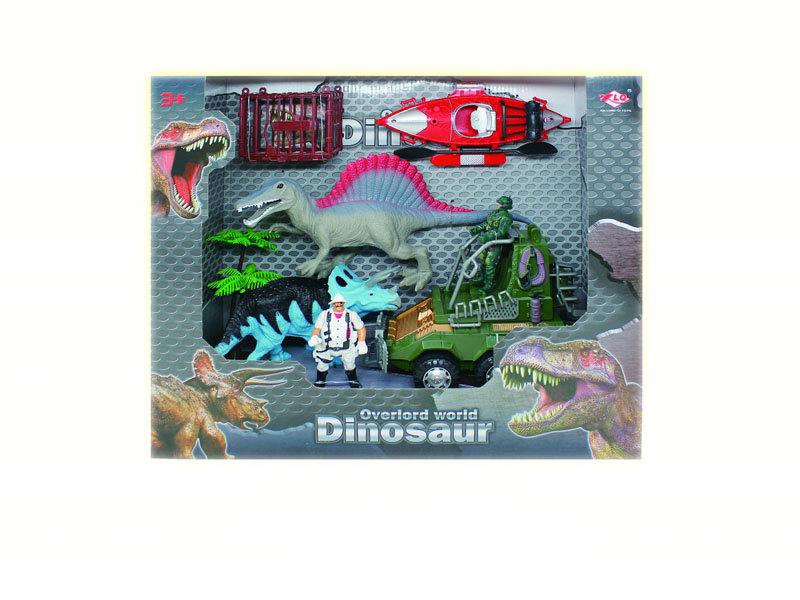 Dinosaur protect toy animal set rescue toy
