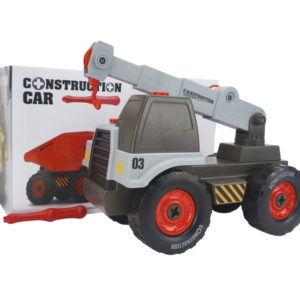 Assembly vehicle toy car engineering car