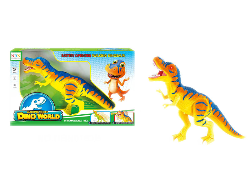 B/O toy dinosaur set animal toy with light and music