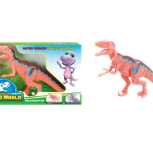 Cute dinosaurs battery option toy animal toy