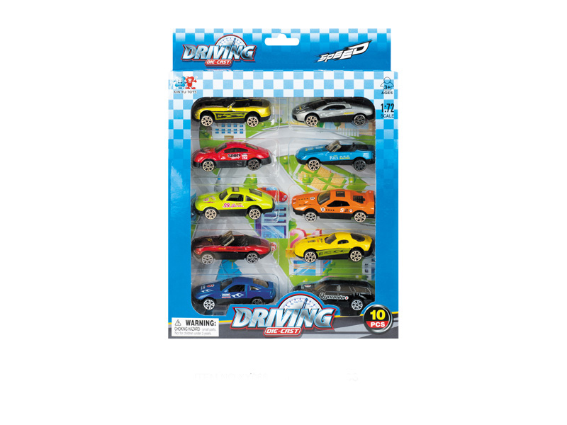 Diecast car mini vehicle toy driving toy