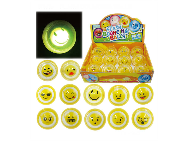 Bouncing ball flash toy funny toy