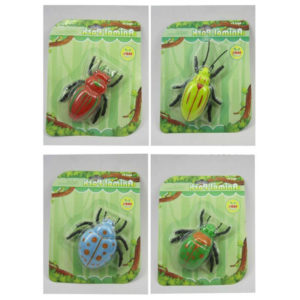 Beetle toy plastic cartoon insect toy