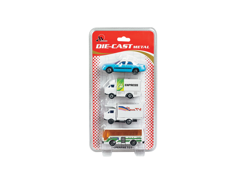 Diecast vehicle airport set car toy