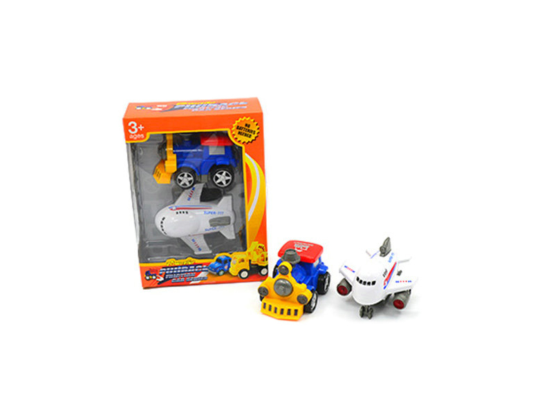 Toy car set vehicle toy friction power set