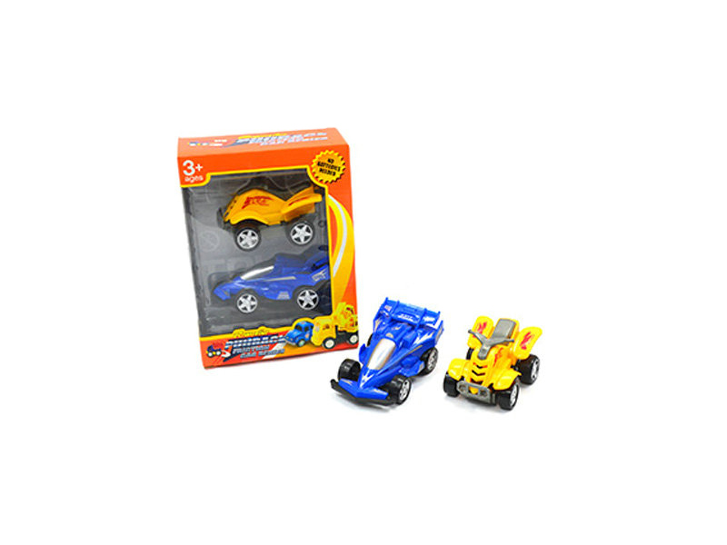 Car set toy vehicle friction power toy
