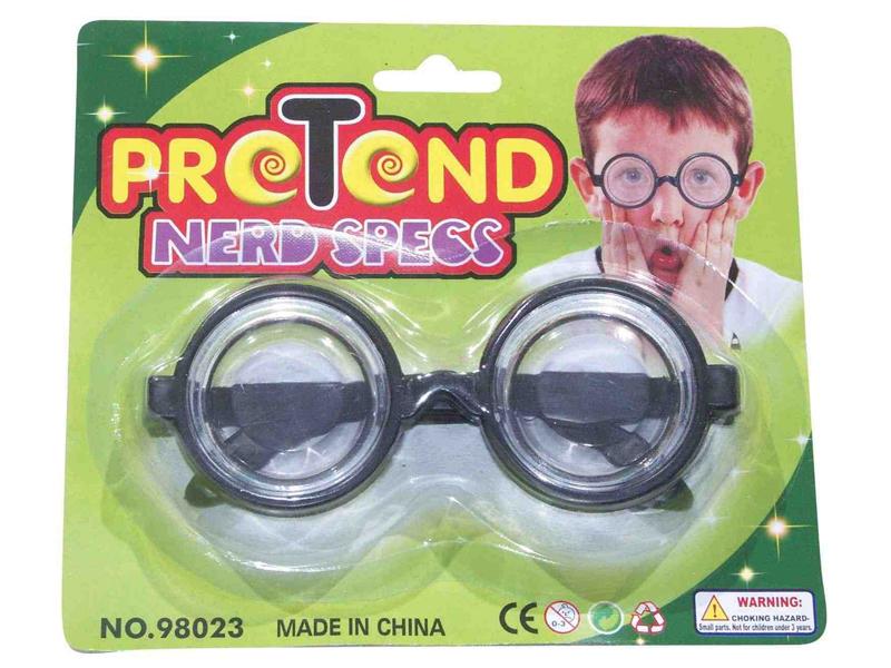 Pretend glasses nerd specs toy glasses